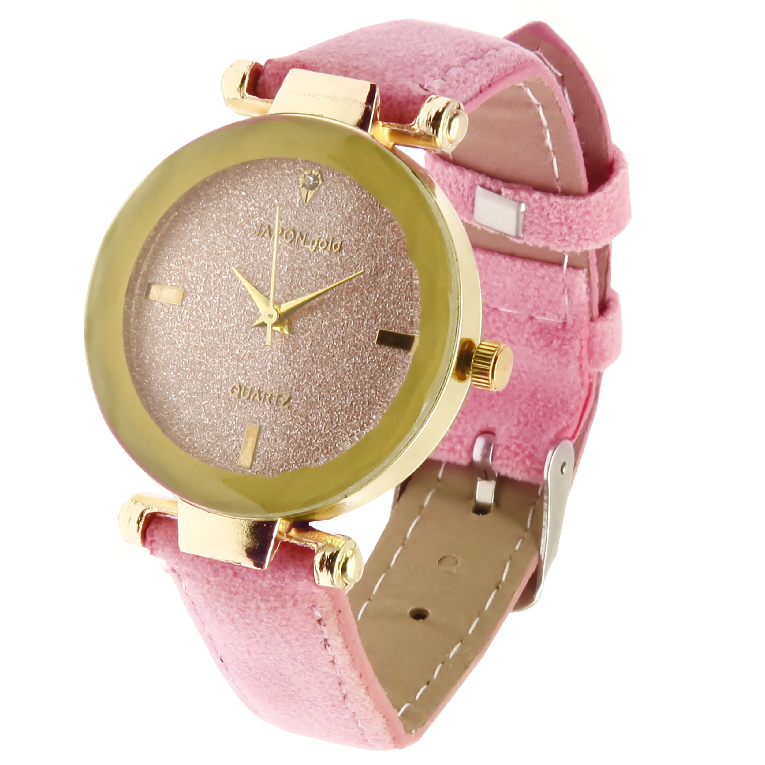 خرید ساعت مچی عقربه ای زنانه ژاپن گلد مدل 0666-80022