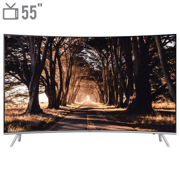 تلویزیون ال ای دی هوشمند خمیده سامسونگ مدل 55NU8950 سایز 55 اینچ