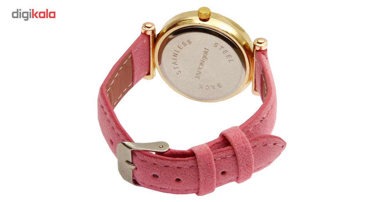 ساعت مچی عقربه ای زنانه ژاپن گلد مدل 0666-80022              خرید (⭐️⭐️⭐️)