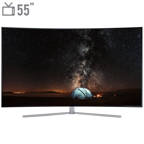 تلویزیون ۵۵ اینچ QLED هوشمند خمیده سامسونگ مدل ۵۵Q78  