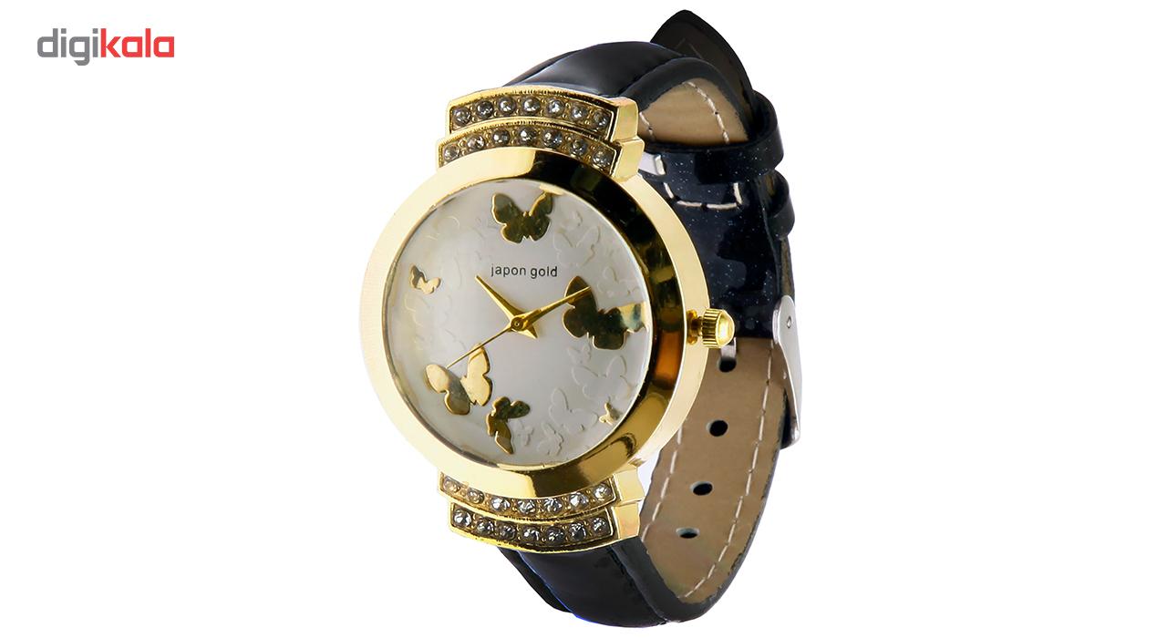 ساعت مچی عقربه ای زنانه ژاپن گلد مدل B19880              خرید (⭐️⭐️⭐️)