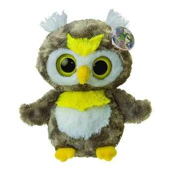عروسک آرورا مدل Snow Owl ارتفاع 18 سانتی متر