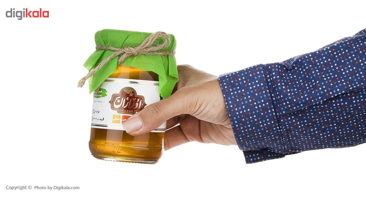 عسل آویشن ارگانیک اورازان مقدار 360 گرم