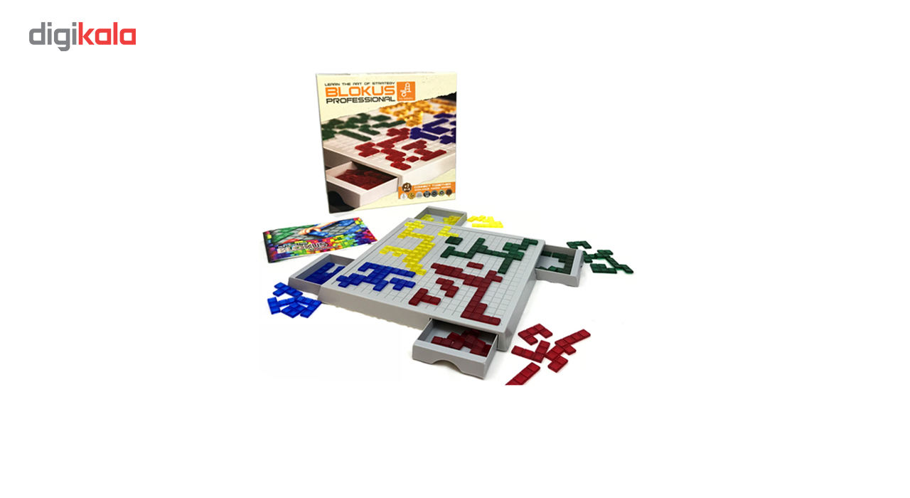 بازی فکری فکرانه مدل BLOKUS main 1 4