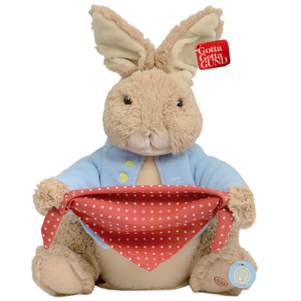 عروسک پولیشی گاند مدل Peter Rabbit Peek A Boo ارتفاع 30 سانتی متر