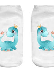جوراب بچگانه طرح اژدها کوچولو کد o29 -  - 1