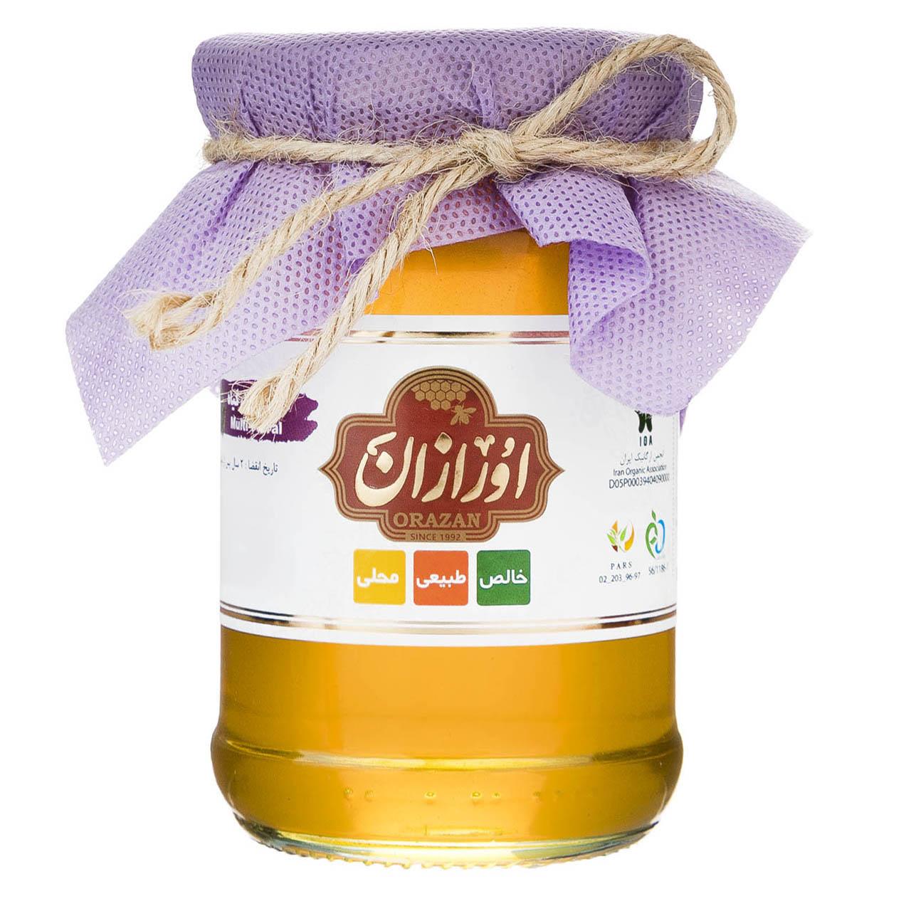 عسل چهل گیاه اورگانیک اورازان - 360 گرم