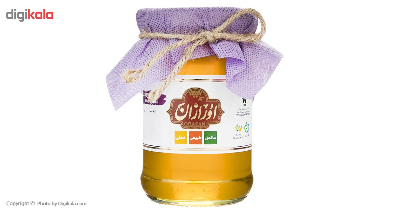عسل چهل گیاه ارگانیک اورازان مقدار 360 گرم