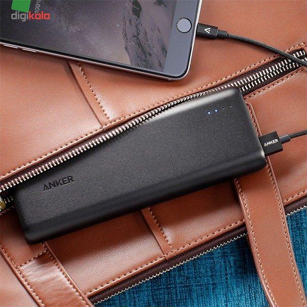 شارژر همراه انکر مدل A1271 PowerCore ظرفیت 20100 میلی آمپر ساعت