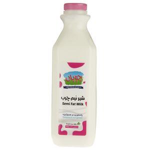 شیر نیم چرب چوپان حجم 0.945 لیتر