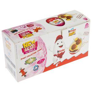 تخم مرغ شانسی کیندر جوی مدل New Toys For Girls مقدار 60 گرم