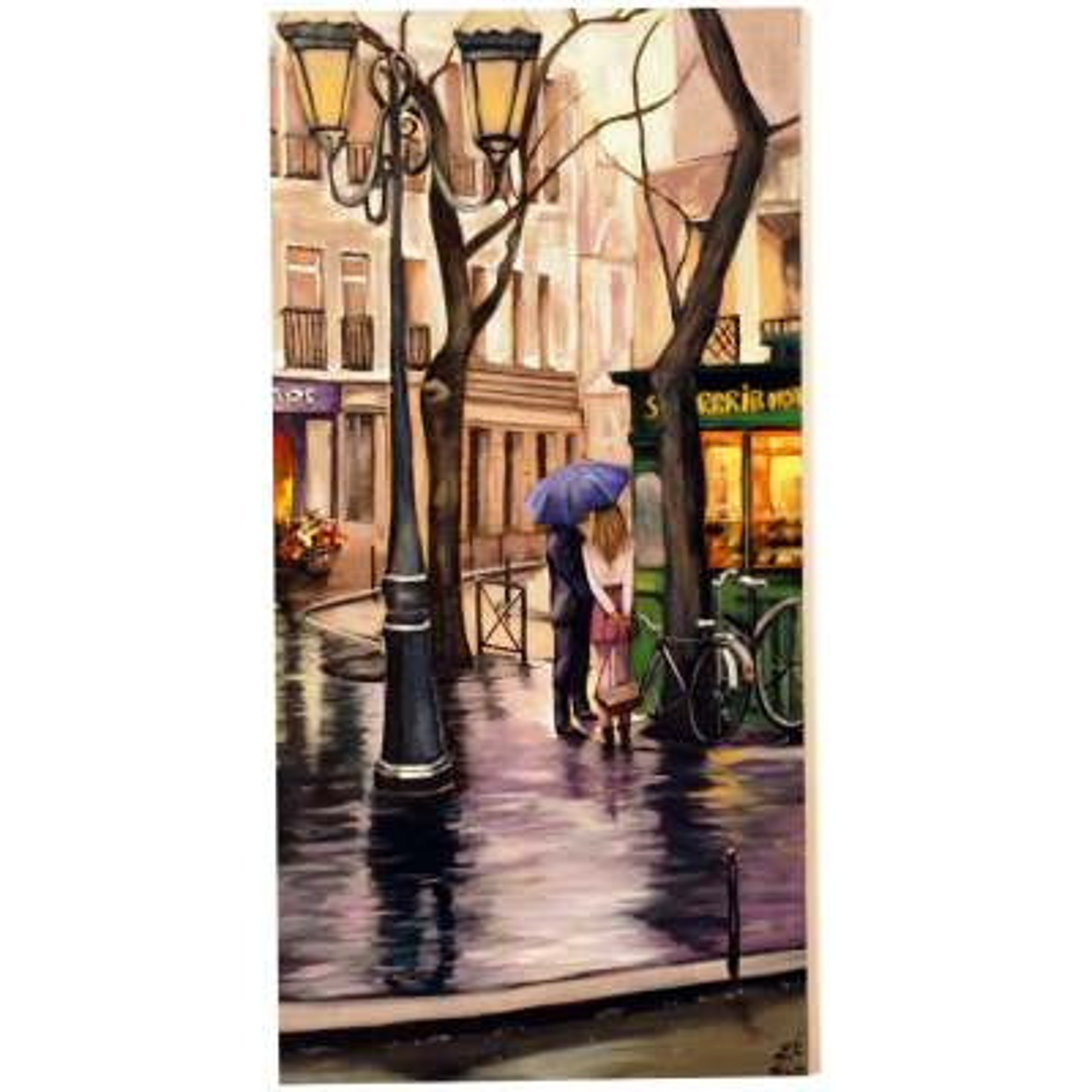 Photo of تابلو نقاشی گالری آلاپریما طرح باران عشق مدل LR28