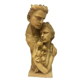 مجسمه طرح خاکی مدل عشق
