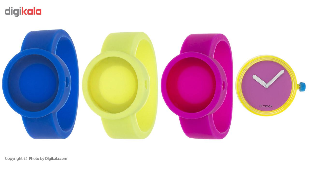 خرید ساعت مچی عقربه ای زنانه اوکلاک مدل Dial Fluo