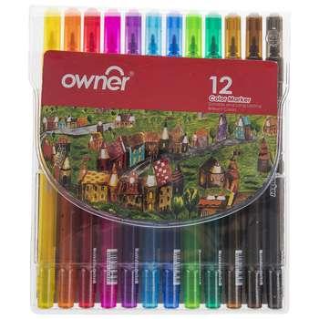 ماژیک اونر مدل 244612 بسته 12 رنگ