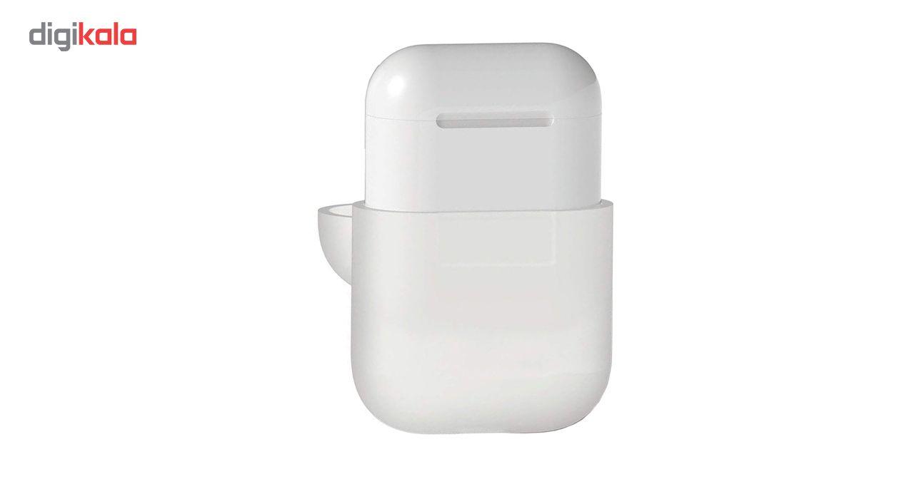 کاور محافظ سیلیکونی الاگو مناسب برای کیس هدفون اپل AirPods main 1 1