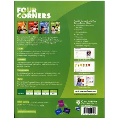 کتاب Four Corners 4 اثر Jack C.Richard and David Bohlke انتشارات زبان مهر