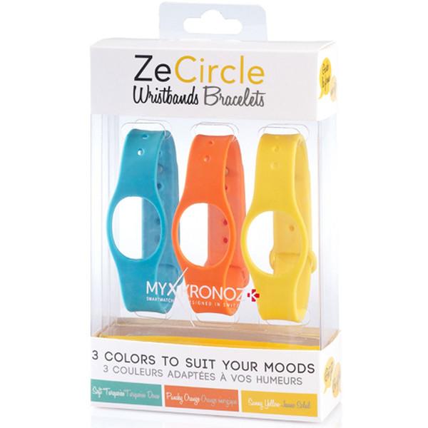 پک 3 عددی بند مچبند هوشمند مای کرونوز مدل ZeCircle X3 Colorama