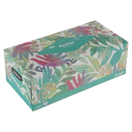 دستمال کاغذی سبز  150 برگ هوبار