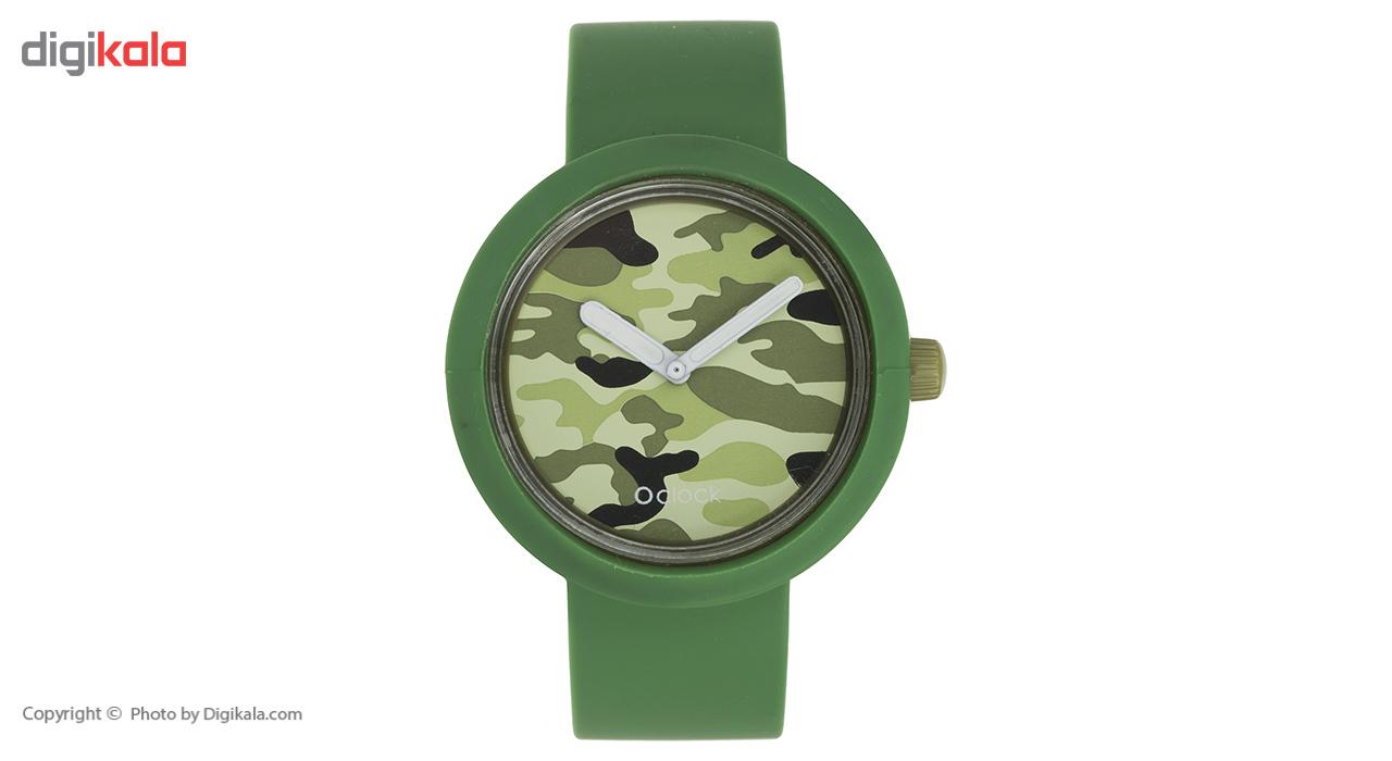 ساعت مچی عقربه ای زنانه اوکلاک مدل Military Green