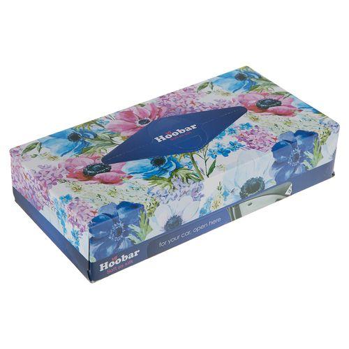 دستمال کاغذی آبی 100 برگ هوبار