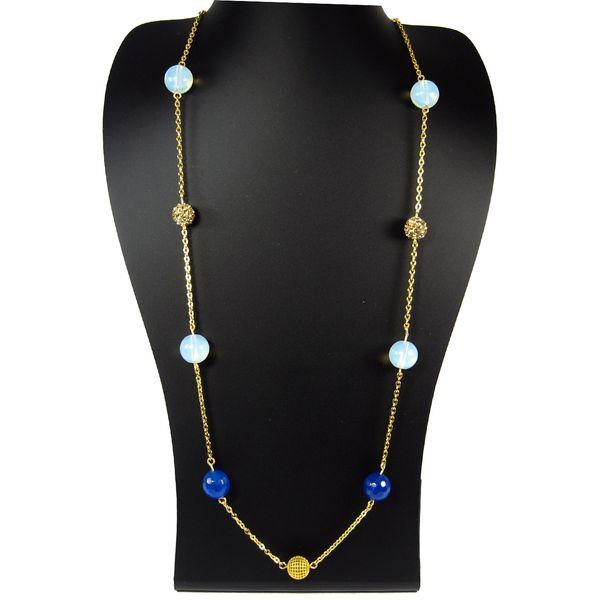 گردنبند طلا 18 عیار مانچو مدل SFG604   Mancho SFG604 Gold Necklace