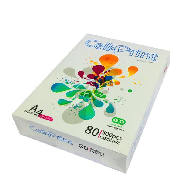 کاغذ A4 سل پرینت 80 گرمی مدل EXACTIVE بسته 500 عددی