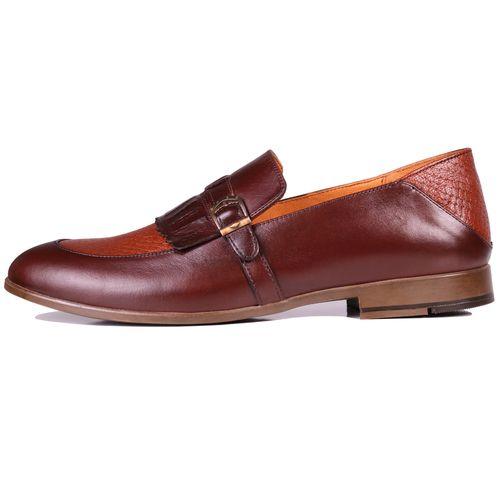 کفش مردانه چرم طبیعی ژست مدل 6012
