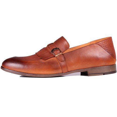 کفش مردانه چرم طبیعی ژست مدل 6015