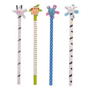 مداد مشکی عروسکی کد1 بسته 4 عددی