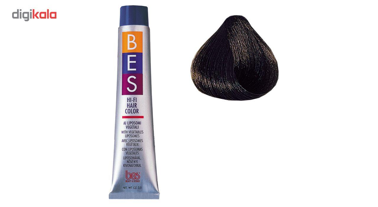 رنگ موی بس سری Natural مدل Dark Brown شماره 3.0