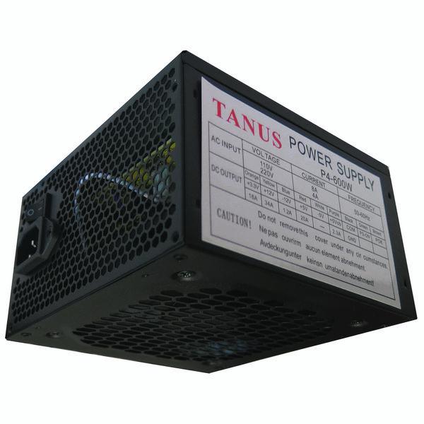 منبع تغذیه کامپیوتر تانوس مدل 600W-P4 | Tanus 600W-P4 Power Supply
