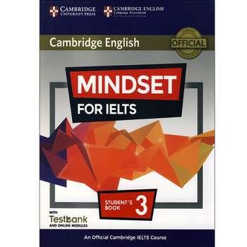 کتاب Cambridge English Mindset For IELTS 3 اثر جمعی از نویسندگان انتشارات هدف نوین