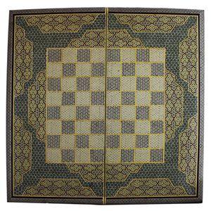 تخته نرد و صفحه شطرنج تمام خاتم طرح 408