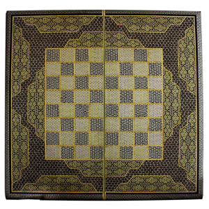 تخته نرد و صفحه شطرنج تمام خاتم طرح 409