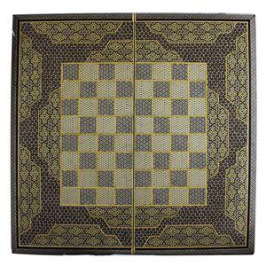 تخته نرد و صفحه شطرنج تمام خاتم مدل طرح 411