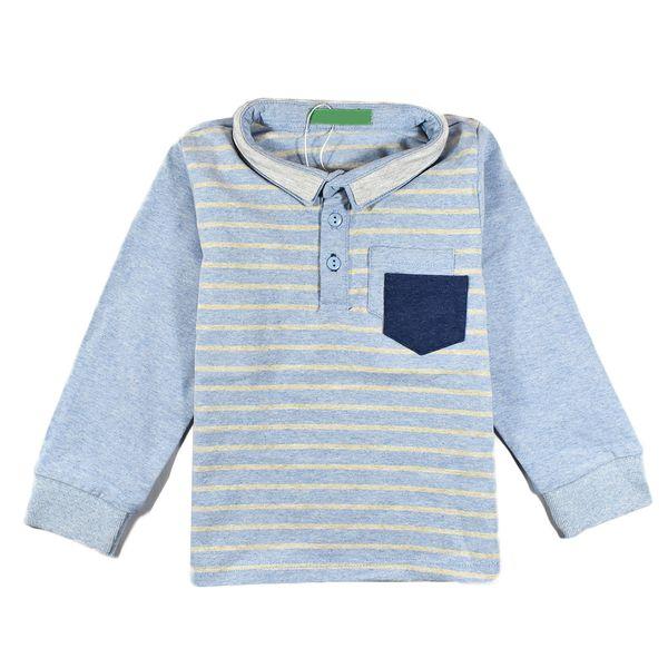 تی شرت پسرانه سوگلی مدلBlue2pocket