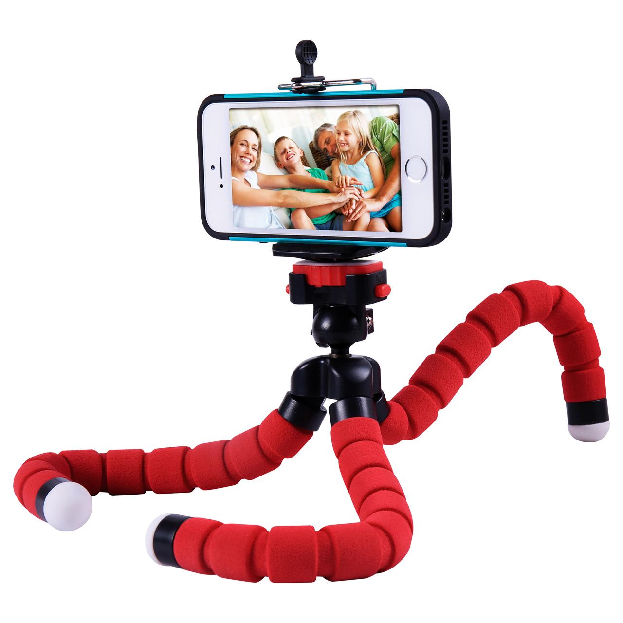 سه پایه گوشی موبایل مدل spider