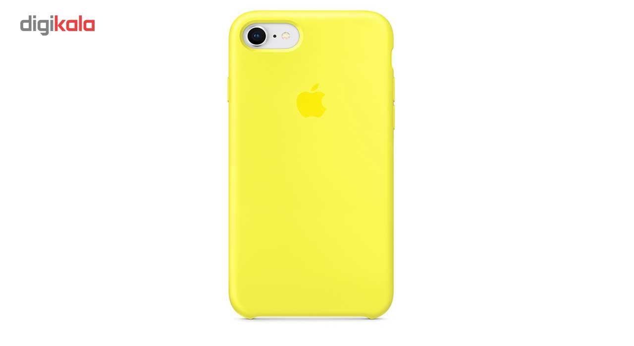کاور سیلیکونی پروتکتیو کیس مدل Hyper Protector مناسب برای گوشی موبایل اپل iPhone 8 به همراه محافظ صفحه نمایش main 1 11