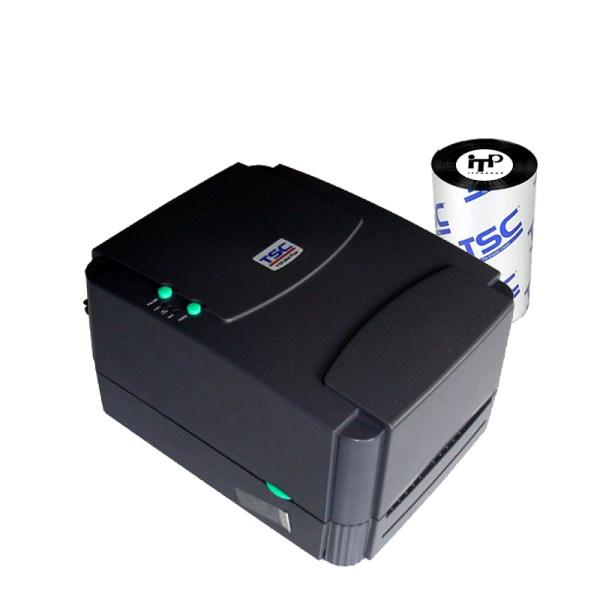 پرینتر لیبل زن حرارتی تی اس سی مدل 244 pro به همراه ریبون 300 متری