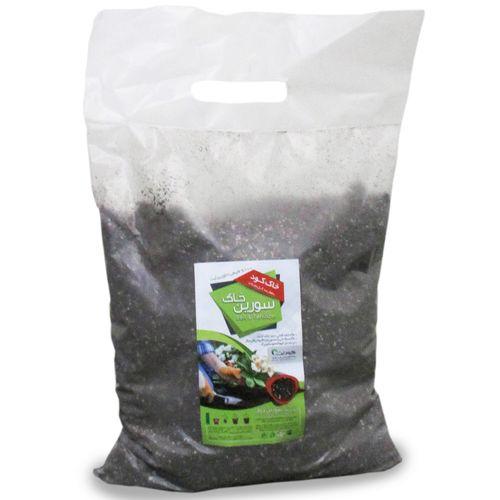 خاک کود ارگانیک سورین خاک سایز بزرگ - 5 کیلویی