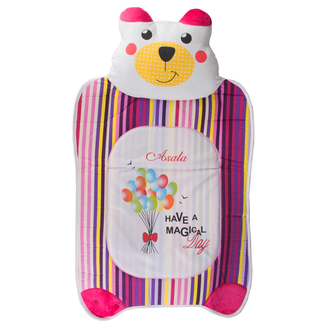تشک نوزاد مدل خرس بالشتی