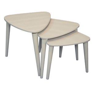 میز عسلی مدل AD08 بسته 3 عددی
