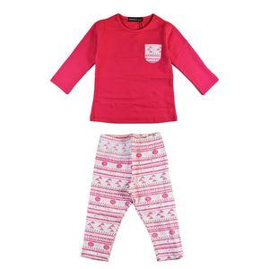تی شرت و شلوار سوگلی مدل Pink1P