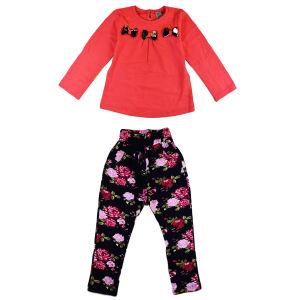 تی شرت و شلوار سوگلی مدل Pink3Bow
