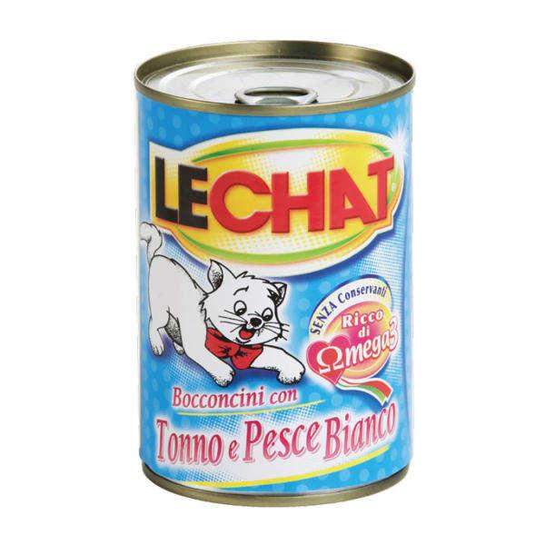 کنسرو غذای گربه لچت کد 000581 وزن 400 گرم
