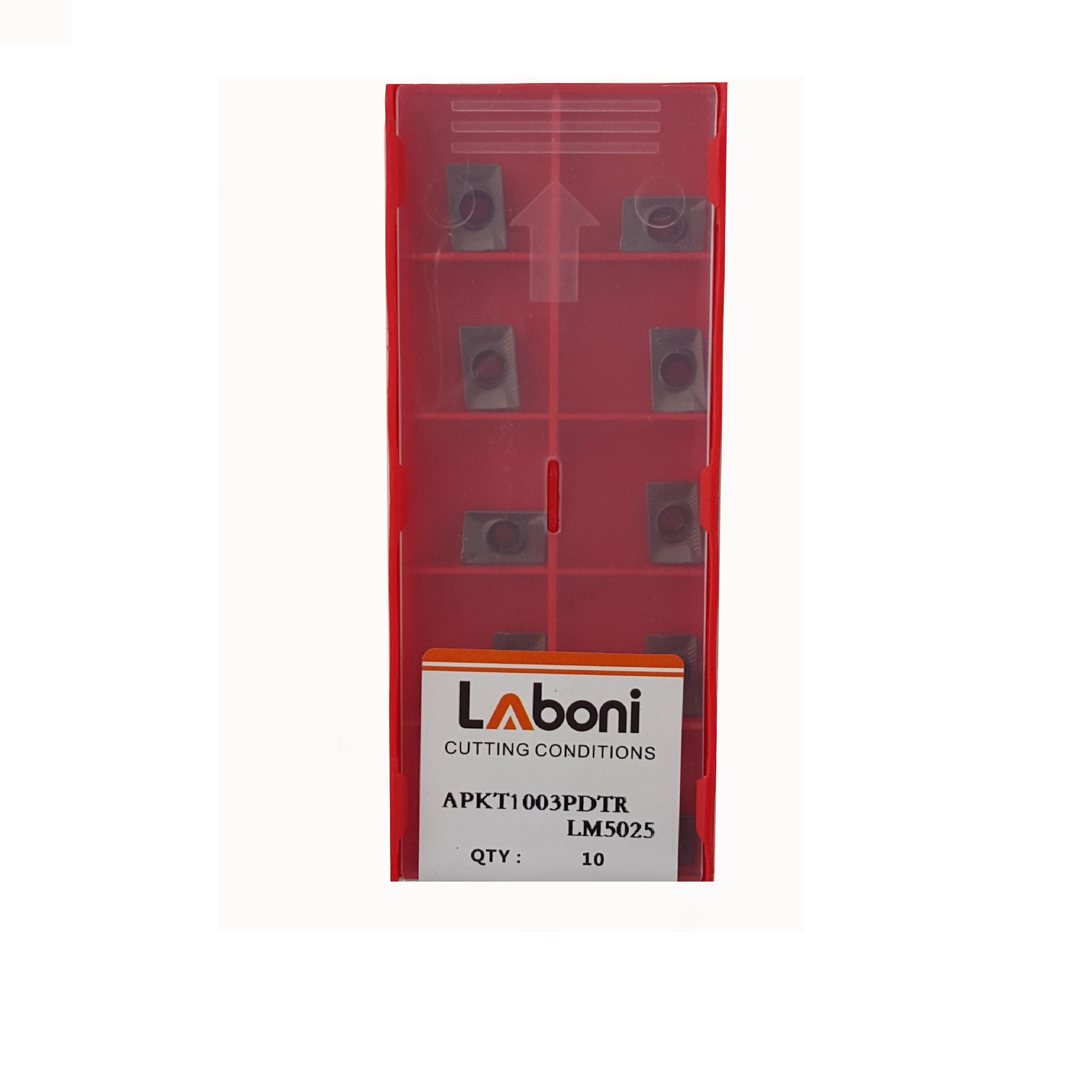 اینسرت فرزکاری لابونی مدل APKT10 مجموعه 10 عددی