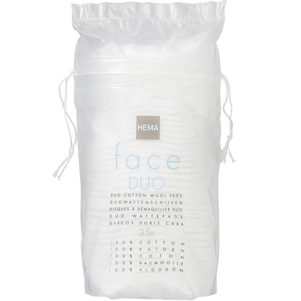 پد آرایش پاک کن دو طرفه هما مدل Face Duo بسته 35 عددی