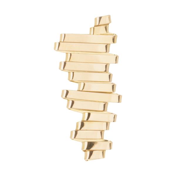 آویز گردنبند طلا 18 عیار زنانه سنجاق مدل X069586