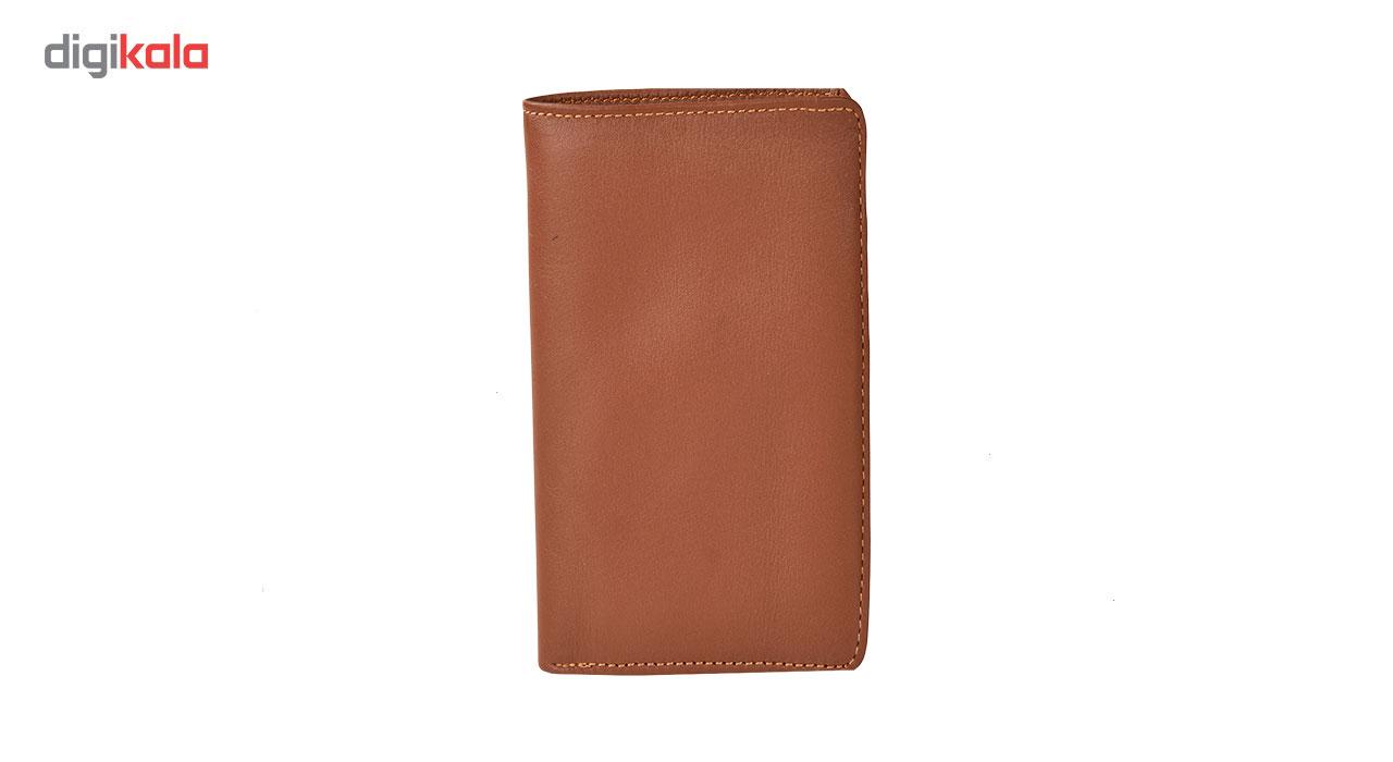 کیف پول کهن چرم مدل LPK16-1
